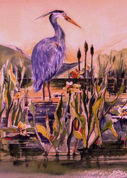 ARTgreat bl-heron