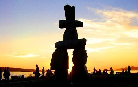 Inukshuk Beach Vancouver