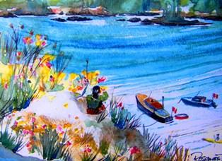 View of the beach-R. Hanna
